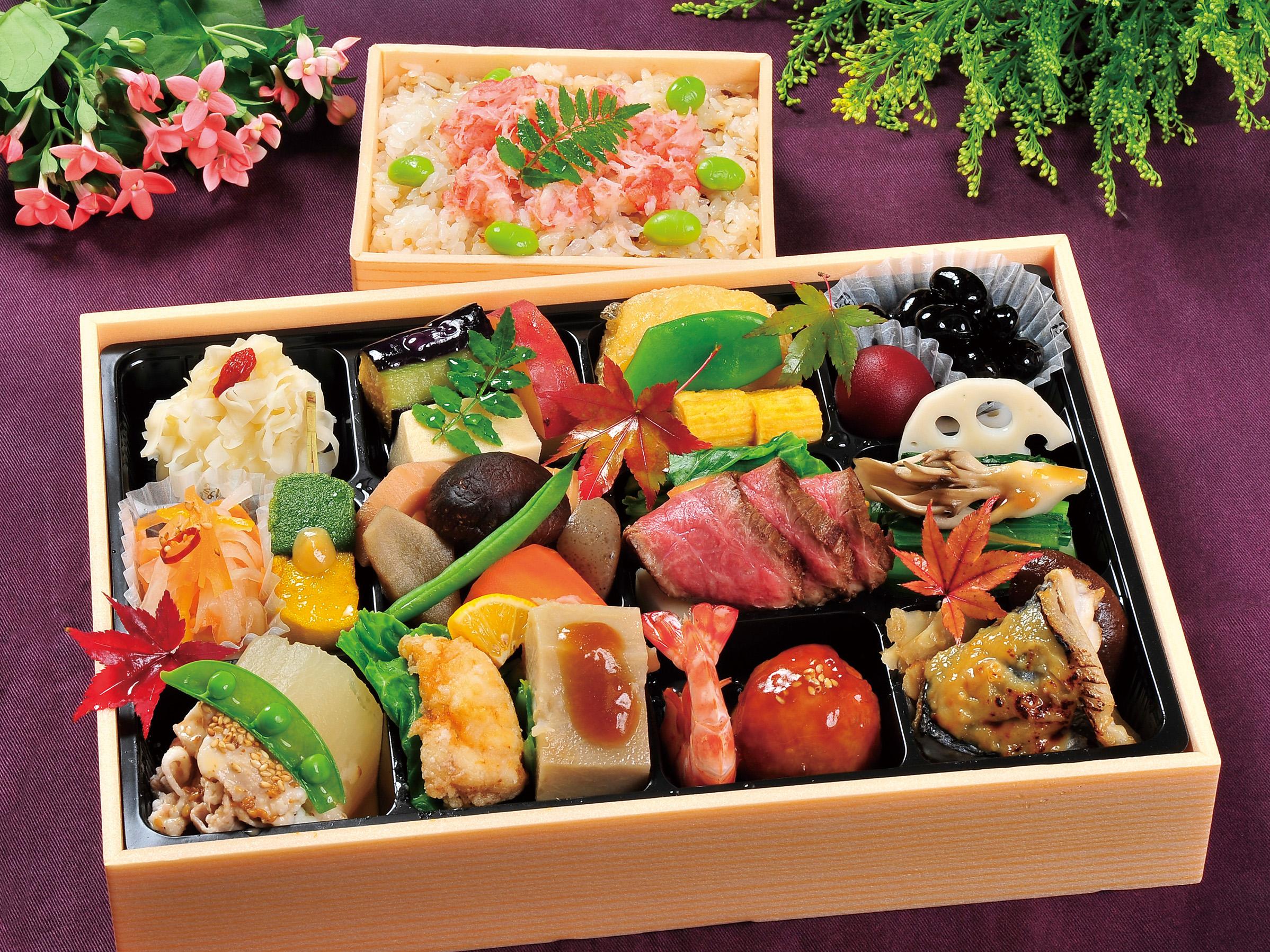 2021年 春めき【harumeki】おひとり様盛オードブル 季節ご飯付き(蟹と春野菜のちらし寿し)