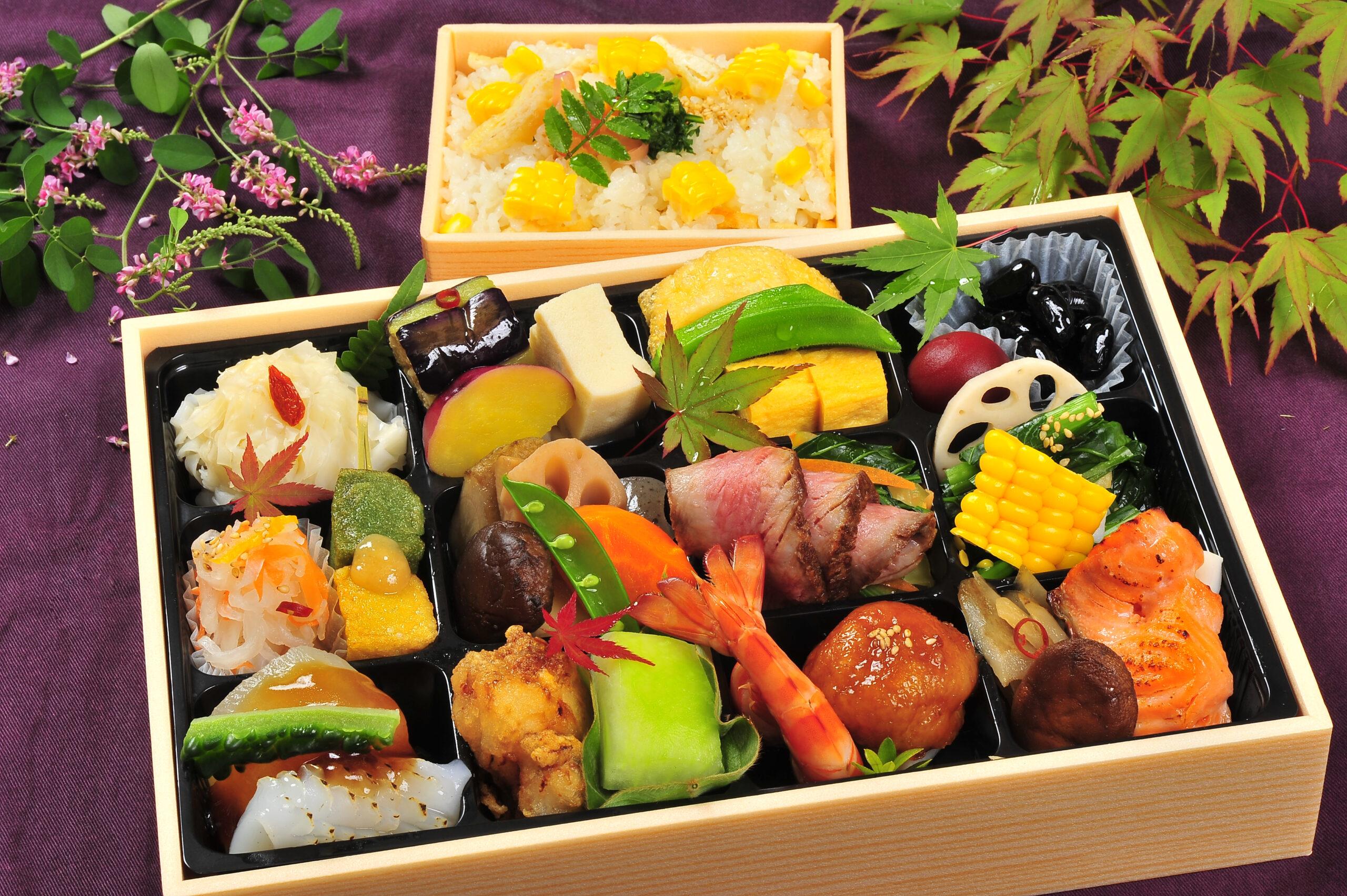 2021年 夏彩【natsuiro】おひとり様盛 オードブル 季節ご飯付き